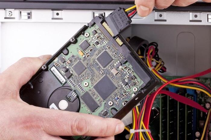 BIOS не отображает жесткий диск