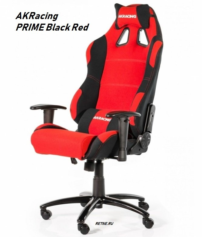 AKRacing PRIME Black Red