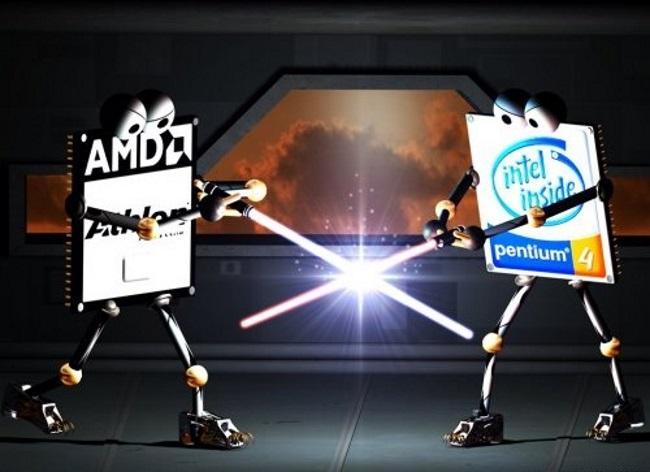 AMD вновь является конкурентом Intel