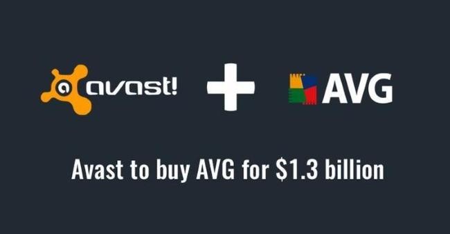 Avast Software приобрела компанию AVG за $ 1,3 млрд