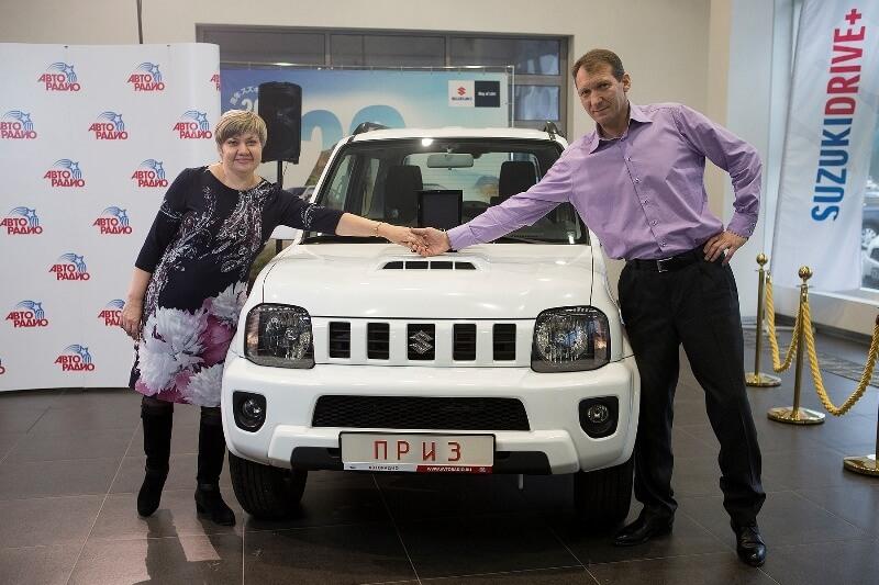 Слушателю «Авторадио» из Тамбова вручили ключи от Suzuki Jimny - Новости радио OnAir.ru