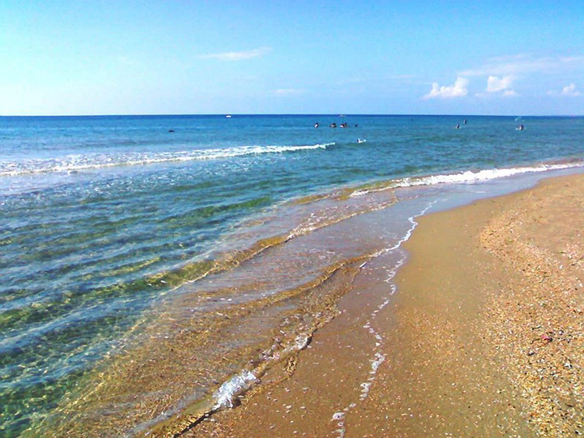 Черное море - пляж