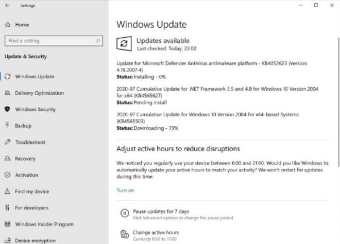 Что нового в накопительном обновлении KB4565503 для Windows 10