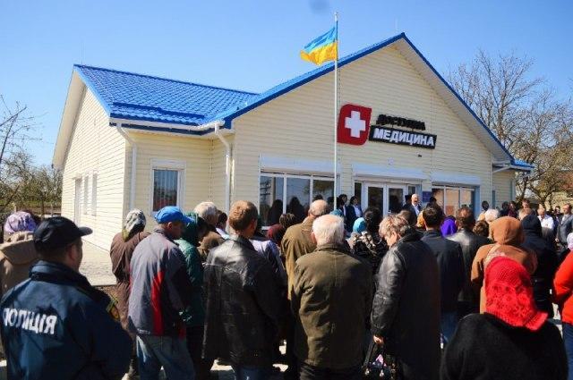 Замість будівлі-«розвалюхи» в селі на Рівненщині з'явилась сучасна амбулаторія