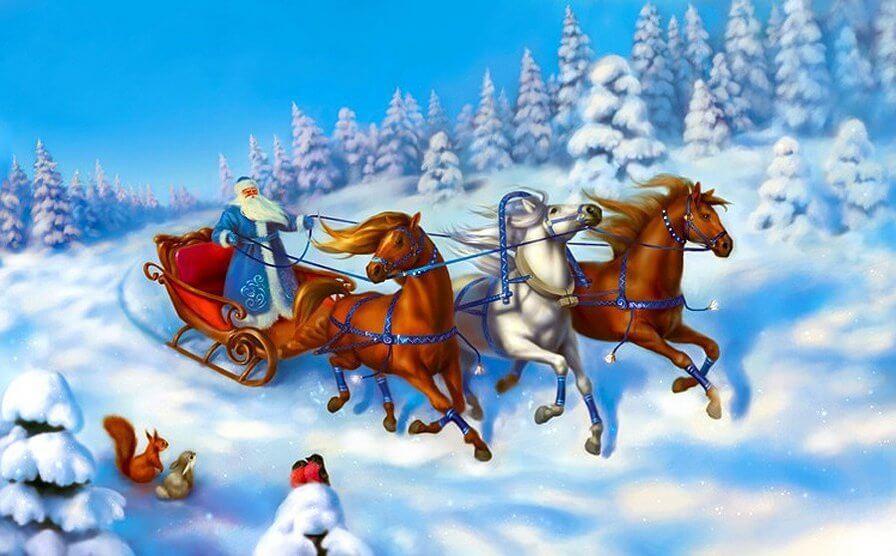 OnAir.ru от всей души поздравляет Вас с Новым годом и Рождеством!