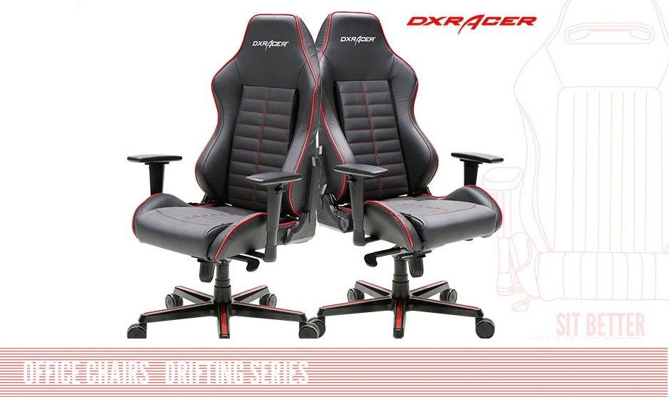 Компьютерное кресло  DXRacer серия DRIFTING модель-133  OH/DJ133/NR