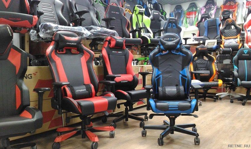 синий стул дхрасер 131 модель