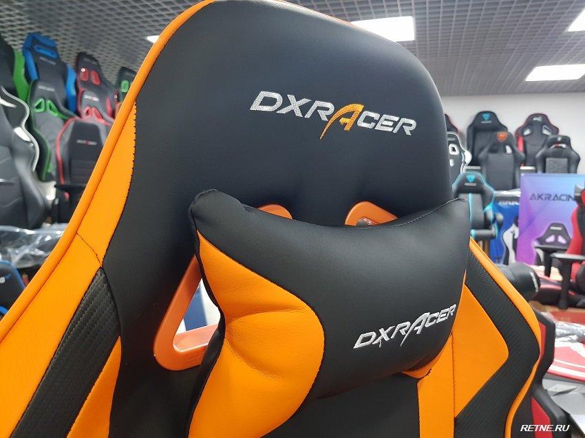 dxracer king оранж