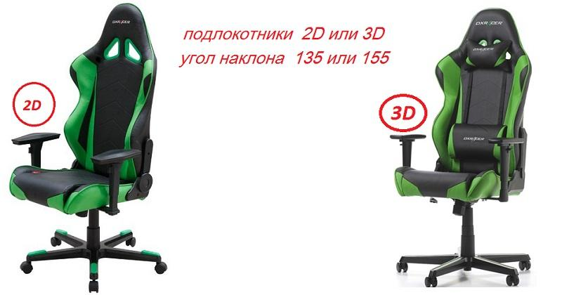 Игровое кресло  DXRACER RACING GAMING CHAIR - OH/R /NE