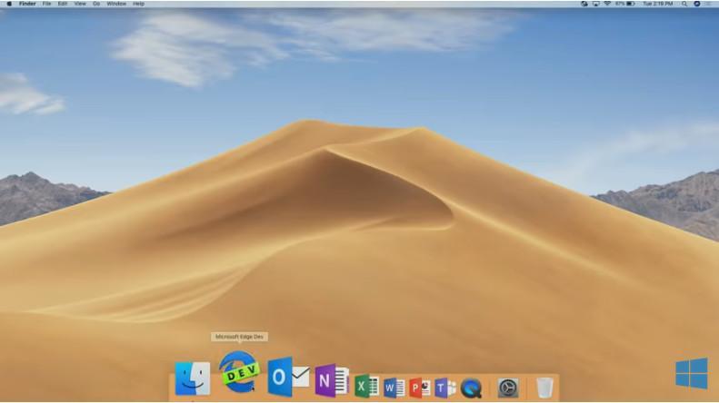 Microsoft Edge для MacOS доступен для скачивания