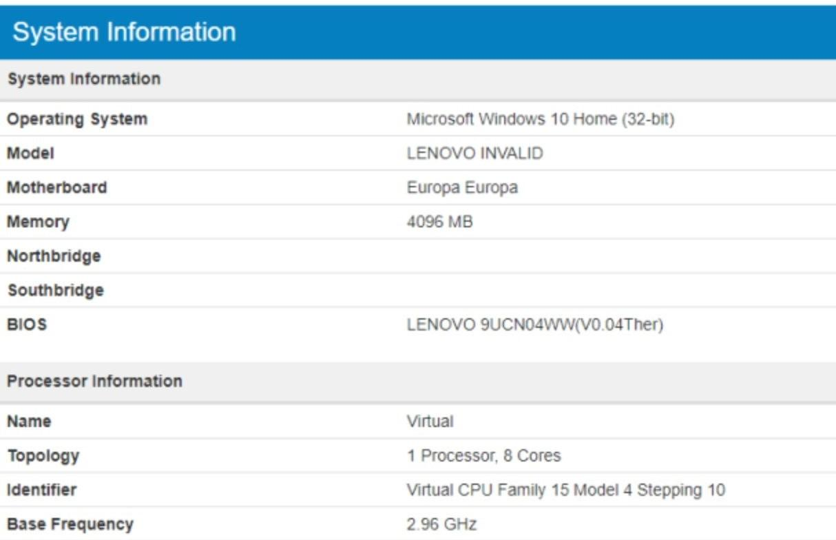 Первый ПК с Windows 10 на базе Snapdragon 845 Chip Spotted Online