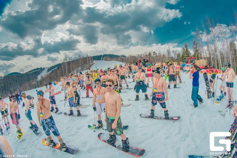 На горнолыжном курорте «Гора Соболиная». Фото: Евгений Панин/Geometria/Сайт ОЗЗ «Ворота Байкала»
