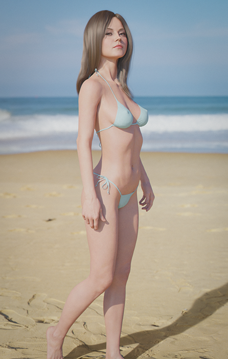 Photo of Unknown Model #18 (On the beach)