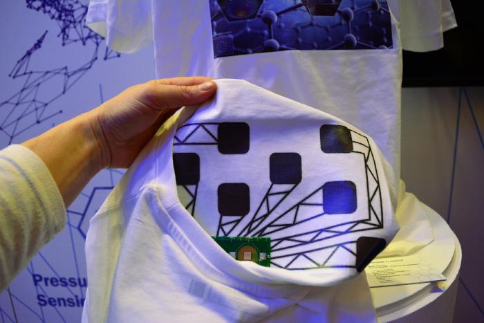 Как графен сделает «умную» одежду