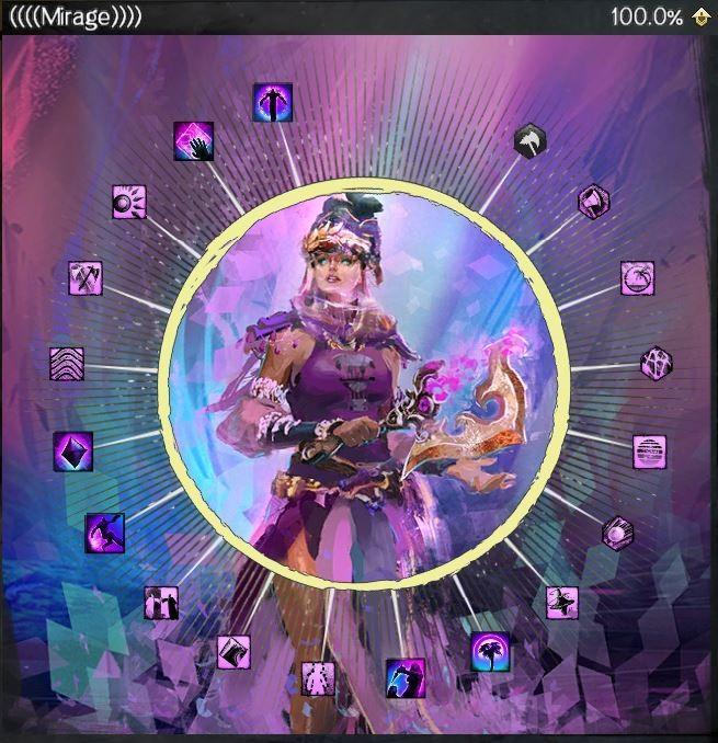 Guild Wars 2 - Мираж: Все Умения и Таланты (обзор)