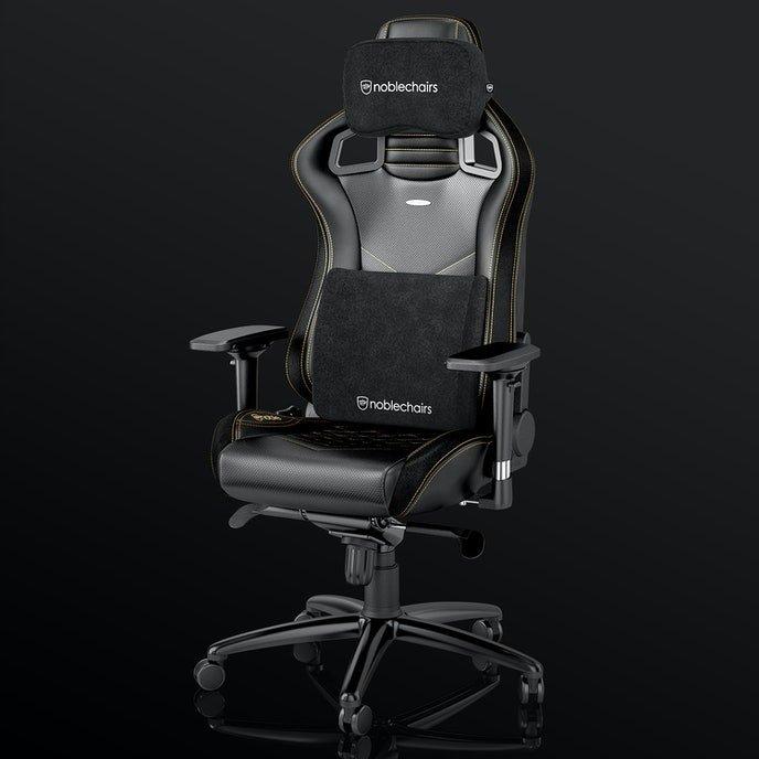 Подушка для кресла Noblechairs (NBL-SP-PST-008) Memory Foam Pillow Set / black
