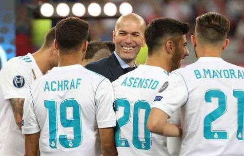 """Зидан хочет, чтобы Ашраф вернулся в """"Мадрид"""""""