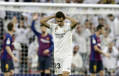 """Регилон может больше не сыграть за """"Мадрид"""""""