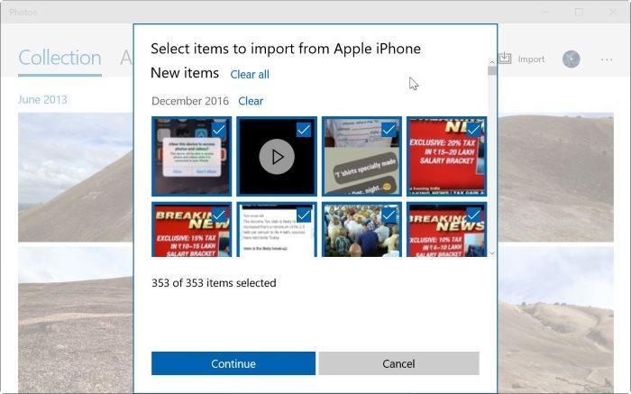 Как импортировать фотографии с iPhone на Windows 10