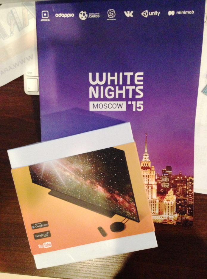 Astro Lords at White Nights won Indie Game Cup 2015