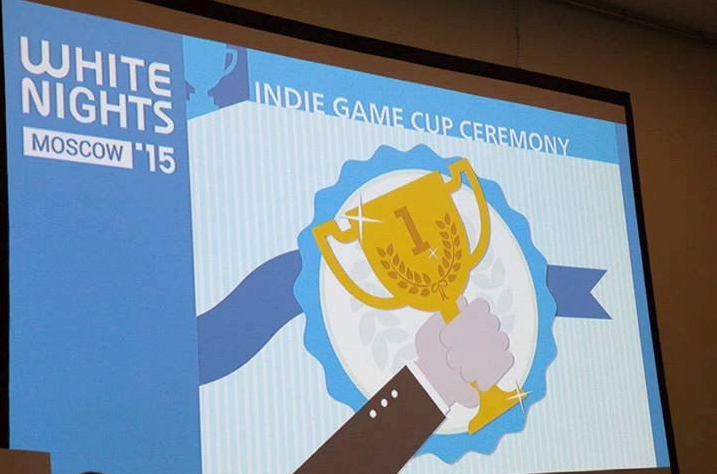Astro Lords won at Indie game Cup Ceremony 2015