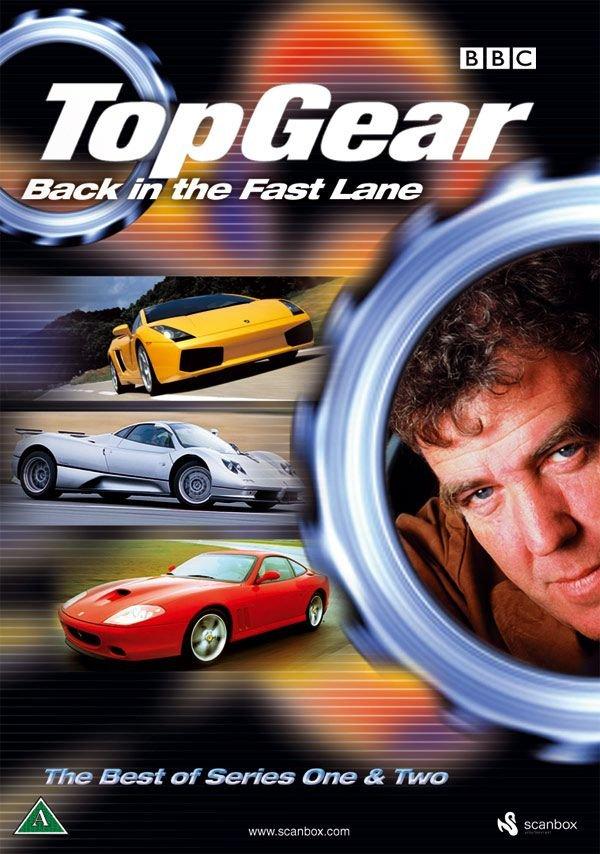 Top Gear - Назад в левый ряд! / Top Gear - Back In The Fast Line (Nigel Simpkiss) [2005, Документальный, DVDRip-AVC]