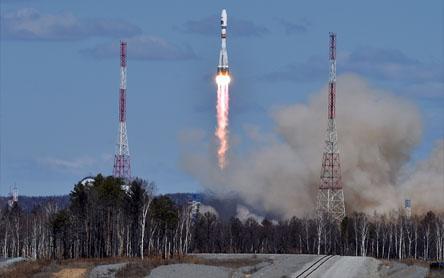 Vostochniydan birinchi raketa