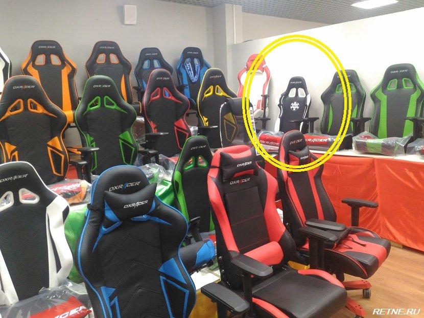 DXRacer - Special Edition - кресло для гурманов
