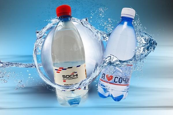 Дистиллированная вода с вашим логотипом