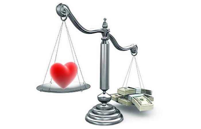 Любовь или деньги?
