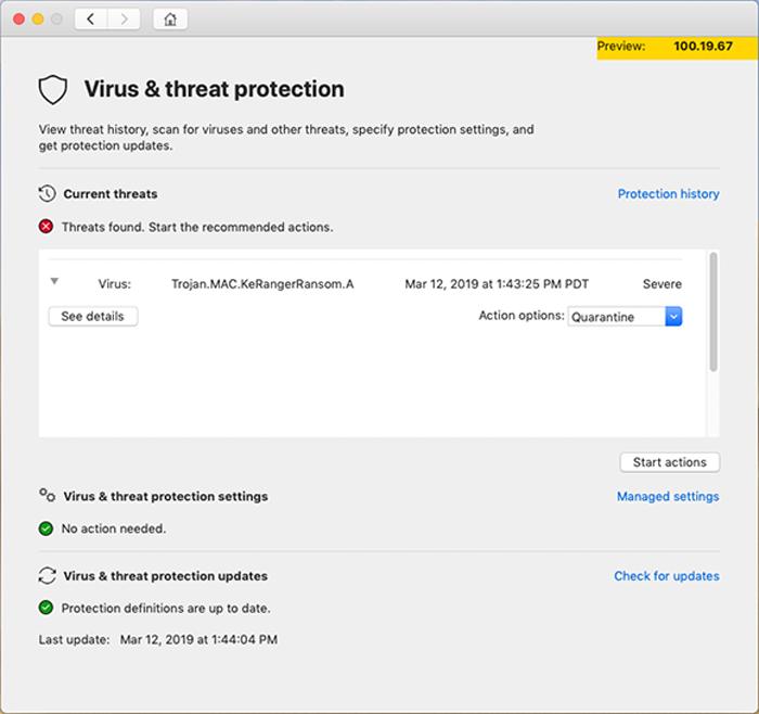 Microsoft  анонсирует антивирусное программное обеспечение для MacOS от Apple