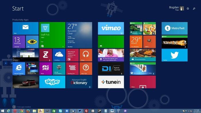 Microsoft прекращает выпускать обновления приложений для Windows 8