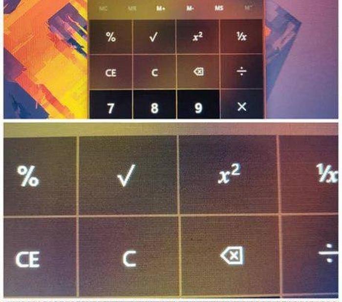 В Windows 10 1809 устранили ошибку смещения калькулятора