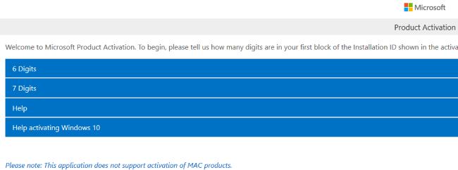 Активация Windows 10 посредством mobileweb