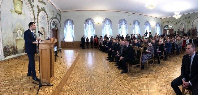 Прем'єр-міністр відкрив в Острозі міжнародний форум з питань безпеки