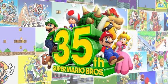Nintendo анонсирует новинки к 35-летию Super Mario