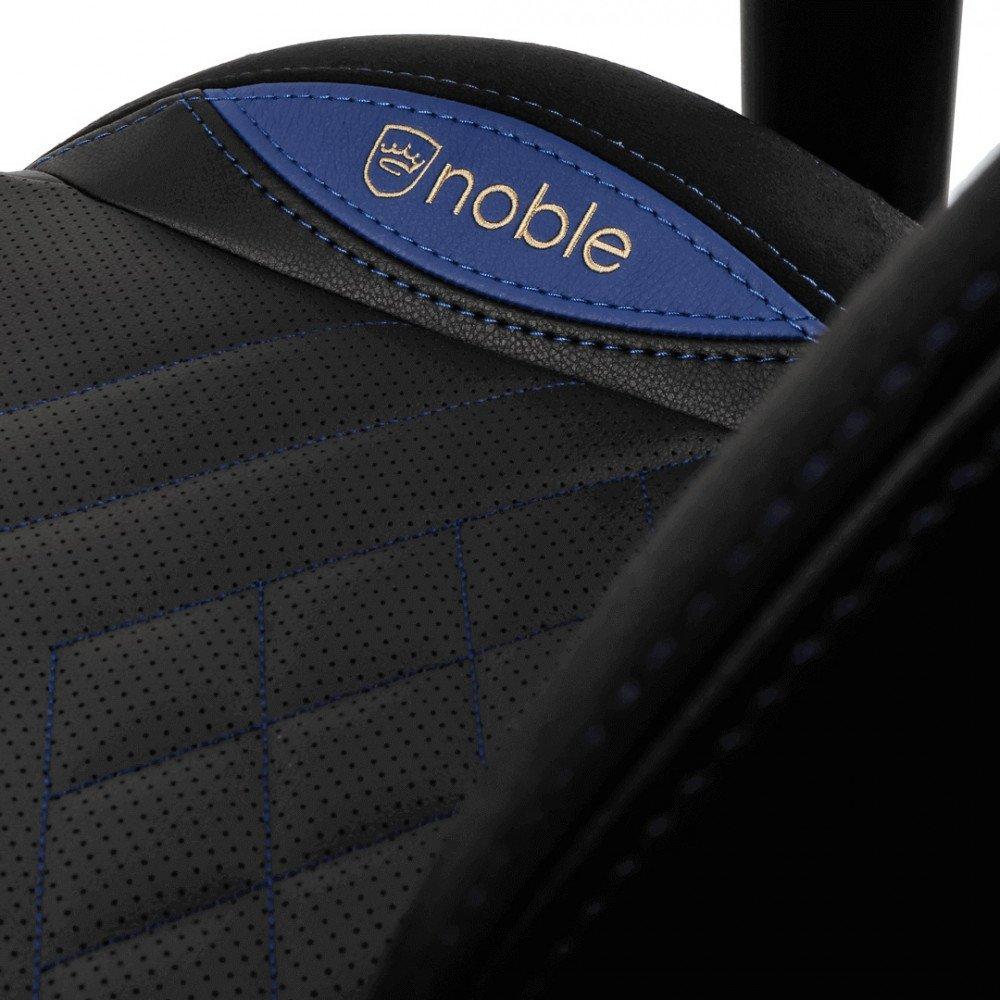 Кресло геймерское Noblechairs EPIC (NBL-PU-BLU-002) PU Leather / black/blue