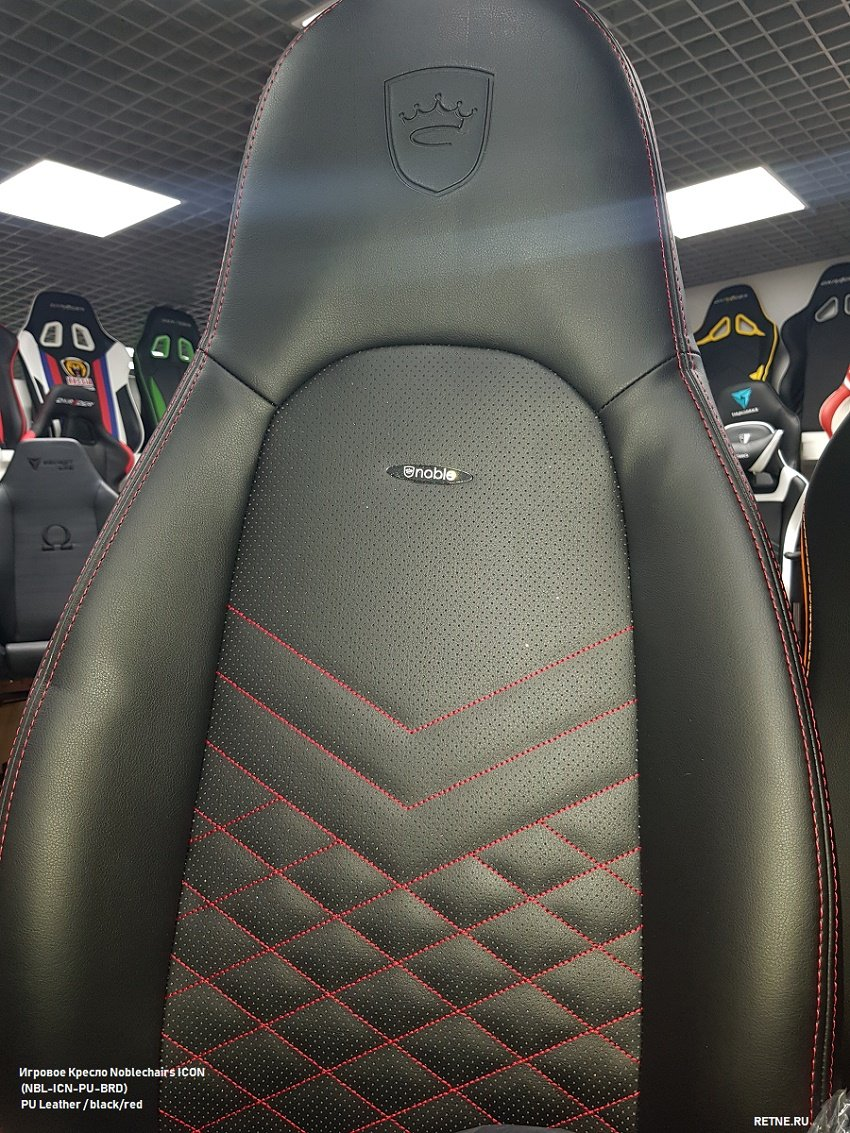 кресло noblechairs ICON Black/Red