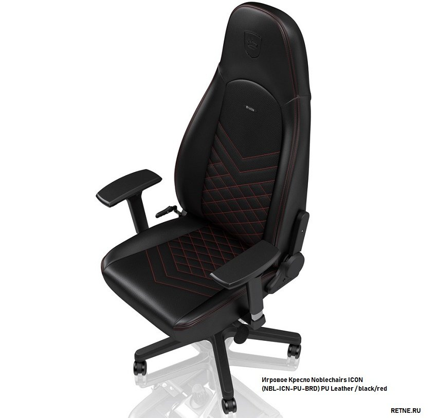 игровой стул noblechairs ICON Black/Red