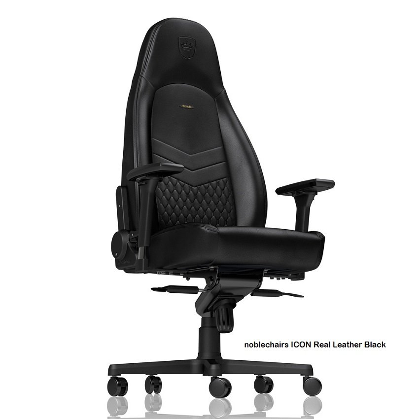 noblechairs ICON Real Leather Black
