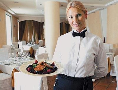 Увеличение популярности профессии официант