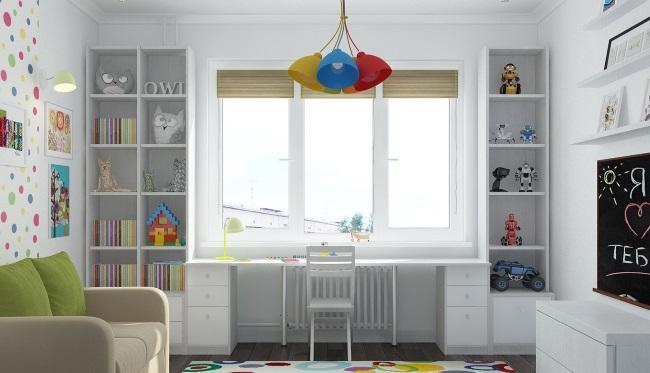 Окна для комнаты малыша: полезные рекомендации