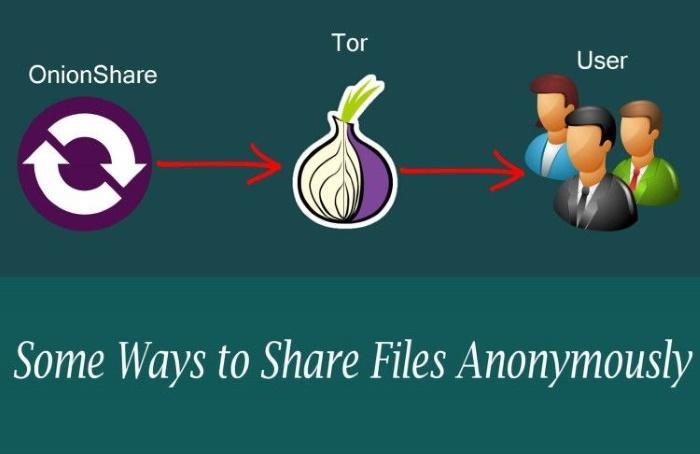OnionShare: простая и быстрая загрузка файлов через Tor Onion