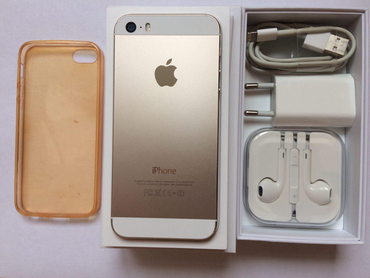 Продаю iPhone 5S 16ГБ Золотой