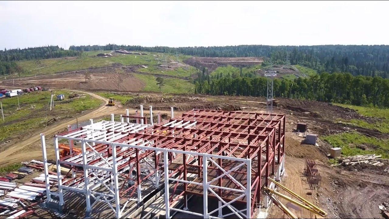 Строительство подземной исследовательской лаборатории в Красноярском крае
