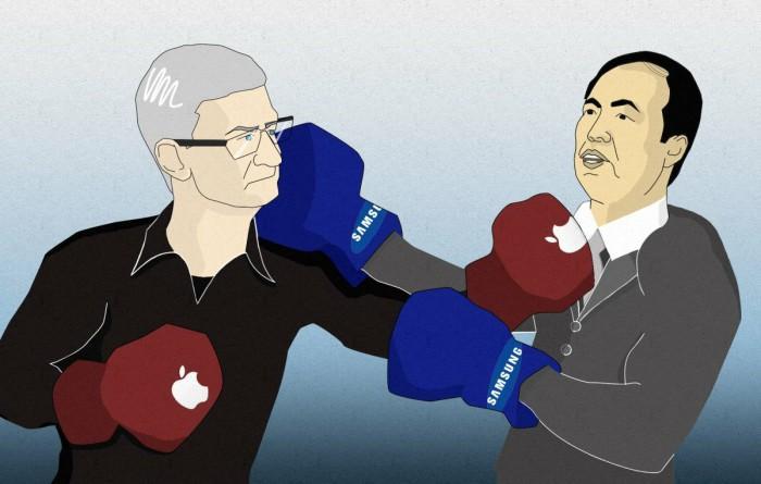 Apple снова обошла Samsung
