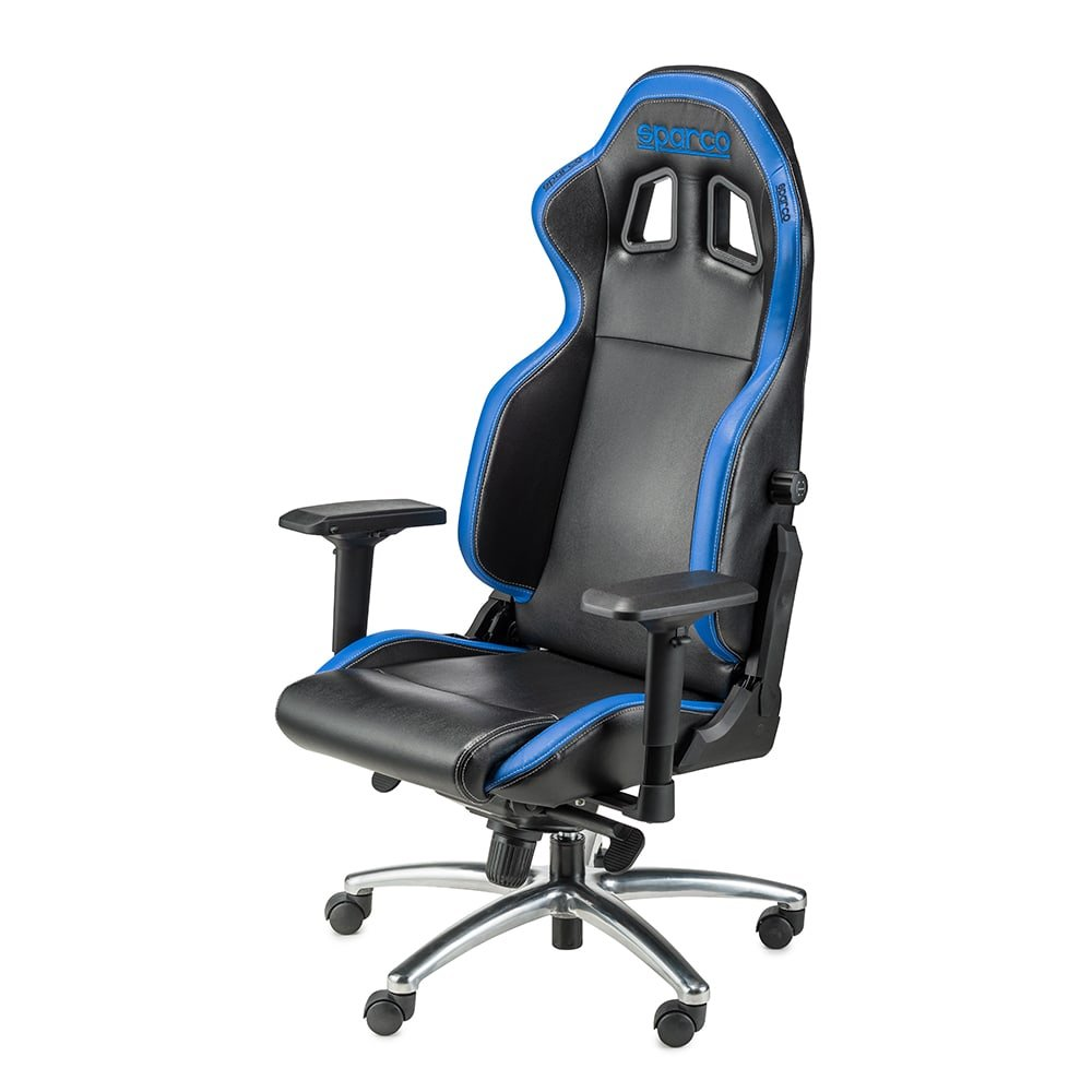 Геймерское кресло RESPAWN BLUE Sparco ® Италия