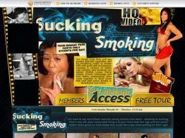 free smoking porn thumbs
