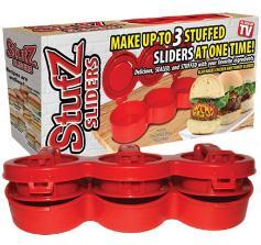 пресс для котлет, купить Stufz Stuffed Burgers