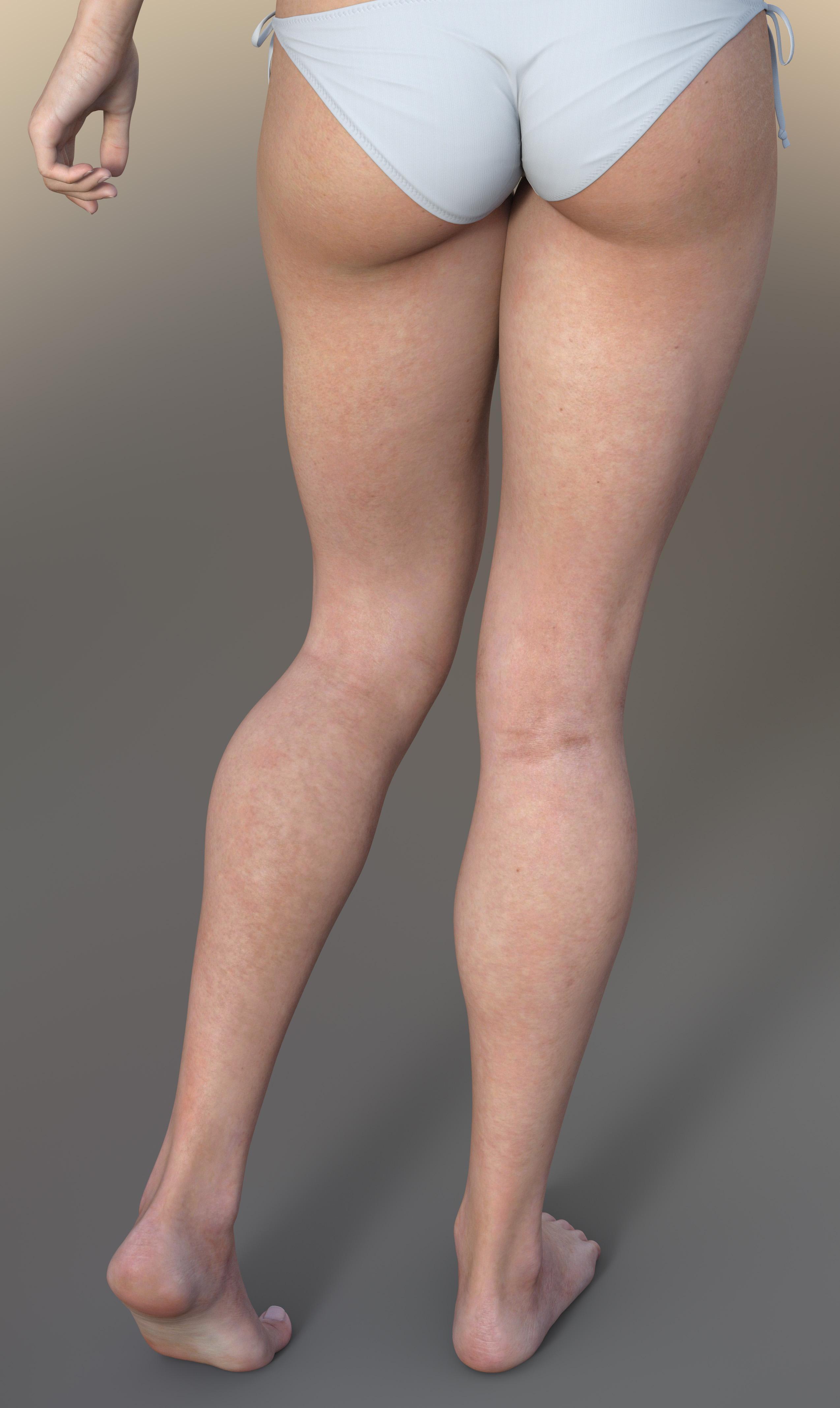 Iray skin demo spectral rendering